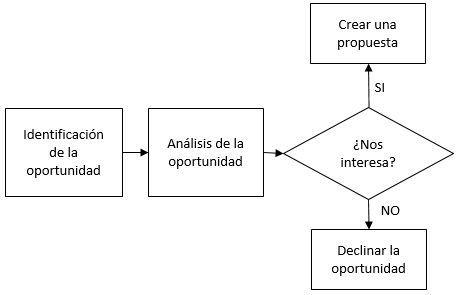 proceso de venta de proyectos